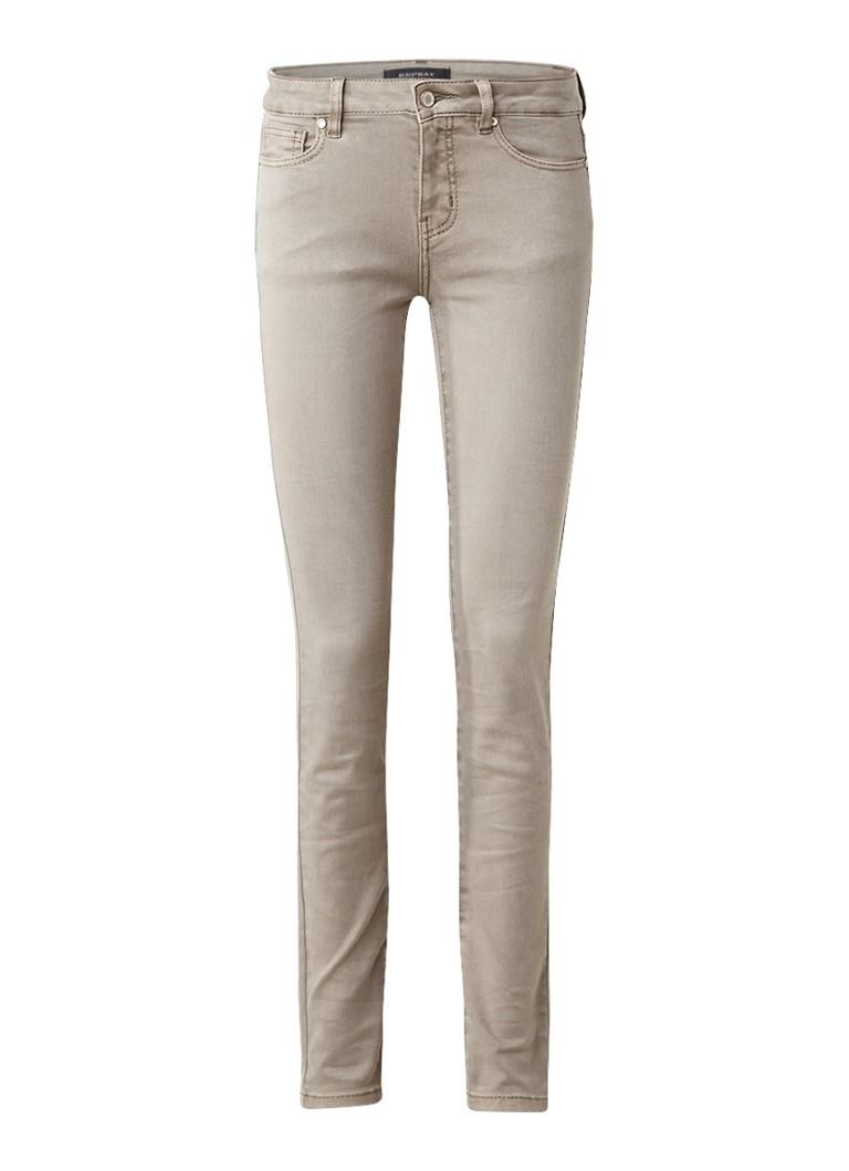 Repeat Mid rise skinny jeans met