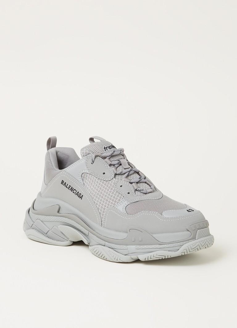 Balenciaga Triple S sneaker met mesh details