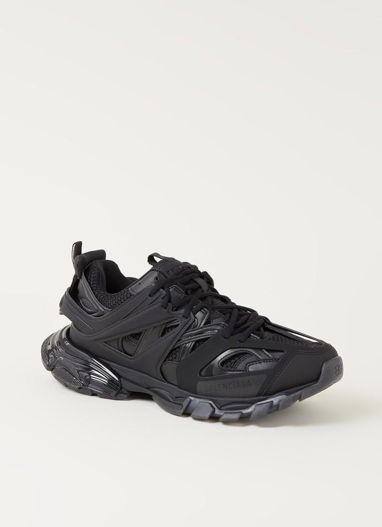 Balenciaga Track Clear Sole sneaker met mesh details