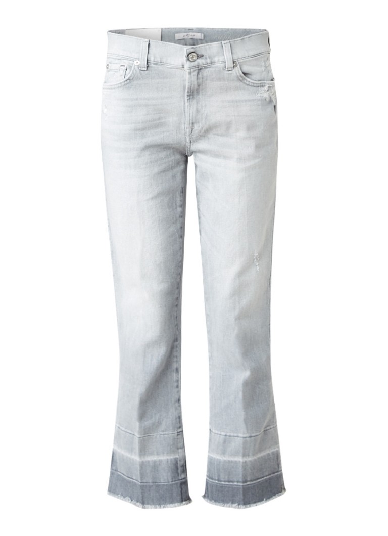 7 For All Mankind Mid rise cropped