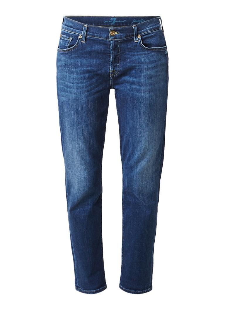 7 For All Mankind Josefina mid rise skinny boyfriend jeans