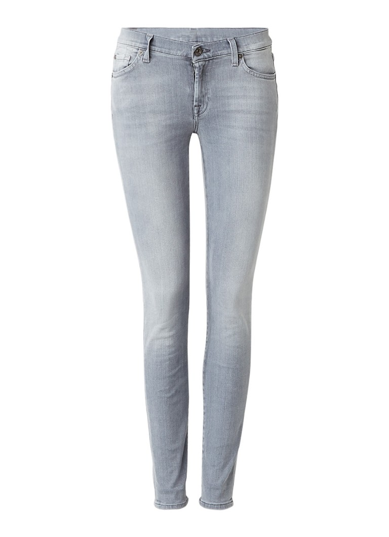 7 For All Mankind The Skinny low rise skinny jeans