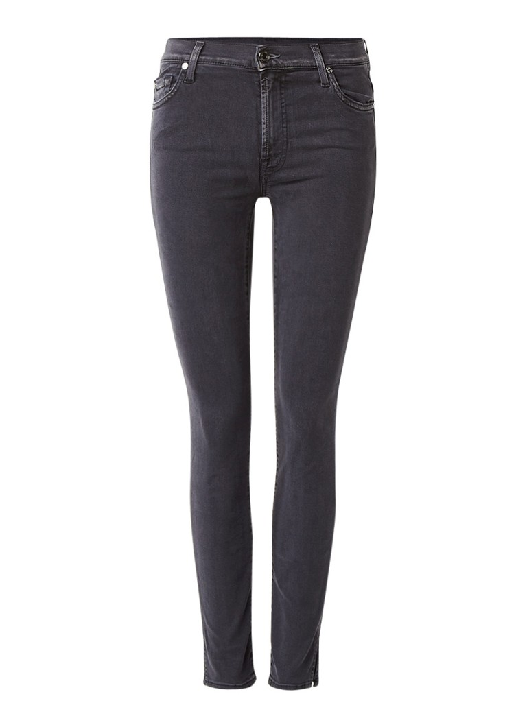 7 For All Mankind Slim Illusion cropped skinny fit jeans