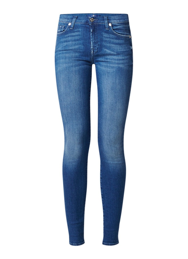 7 For All Mankind The skinny low rise skinny fit jeans