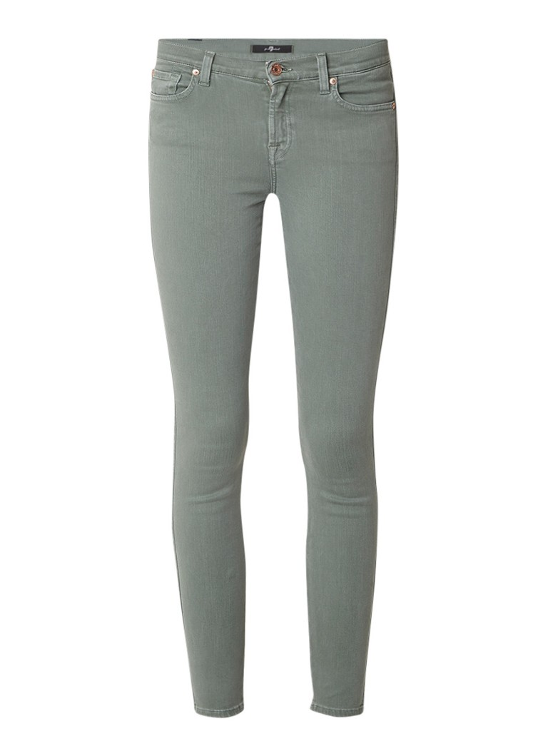 7 For All Mankind Slim Illusion skinny fit jeans met stretch