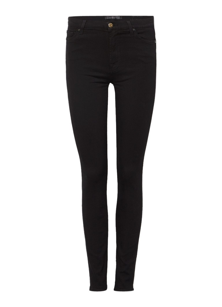 7 For All Mankind The Skinny Slim Illusion high rise skinny jeans