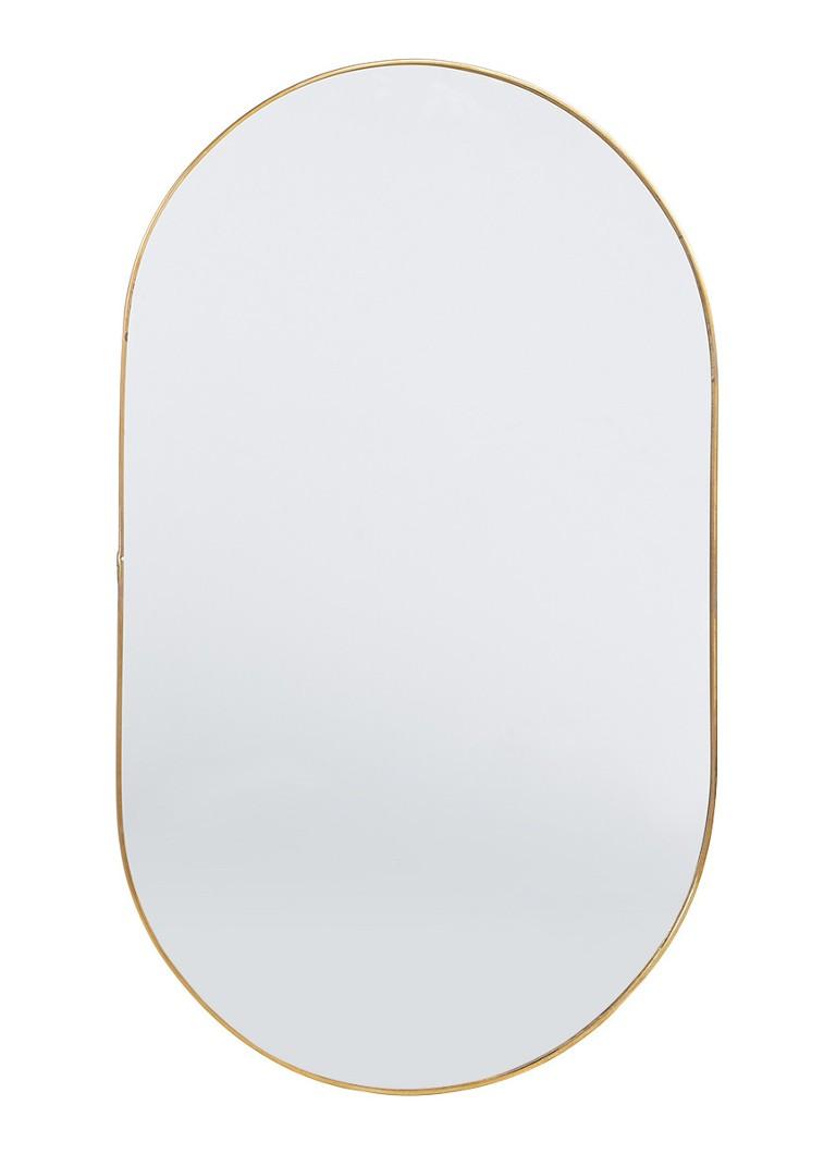 klevering round gold spiegel 43 cm de bijenkorf. Black Bedroom Furniture Sets. Home Design Ideas