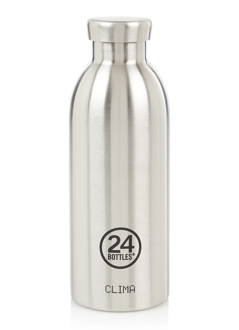 24Bottles - Clima thermosfles 500 ml - Zilver