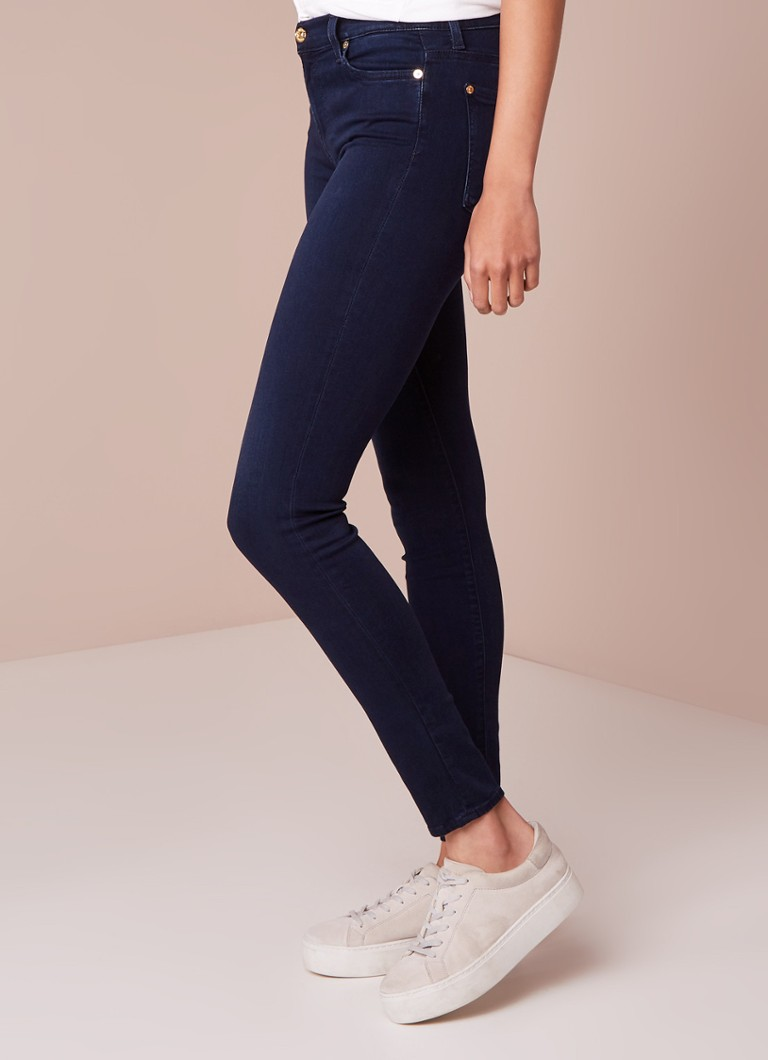 7 For All Mankind - 7 For All Mankind High waist skinny jeans met stretch - Denim