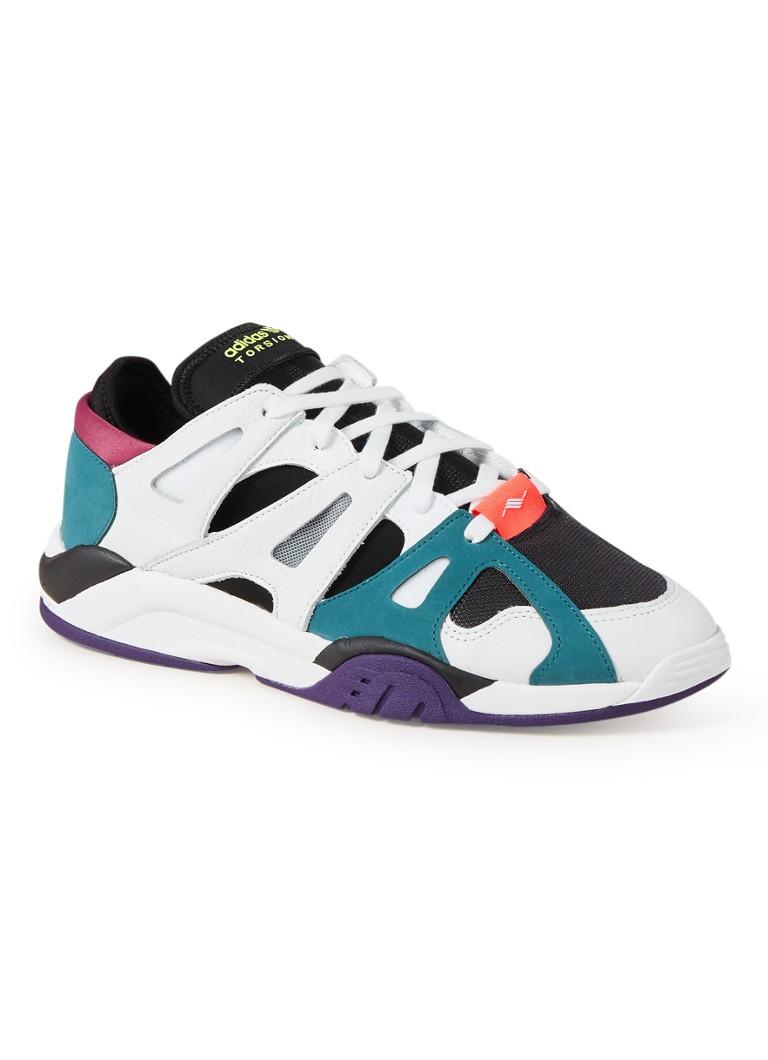 9afc7470c07 adidas Dimension Low sneaker met leren details • de Bijenkorf werken bij  adidas store