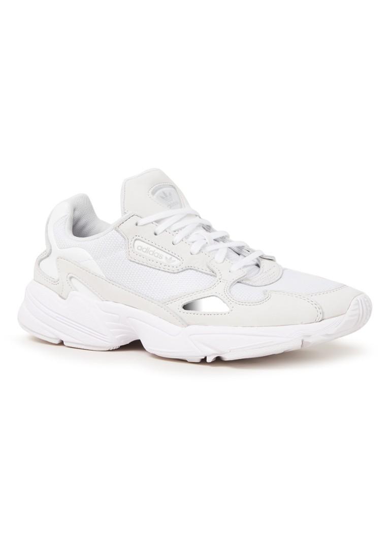 5258752101c adidas Falcon sneaker van mesh en suède • de Bijenkorf