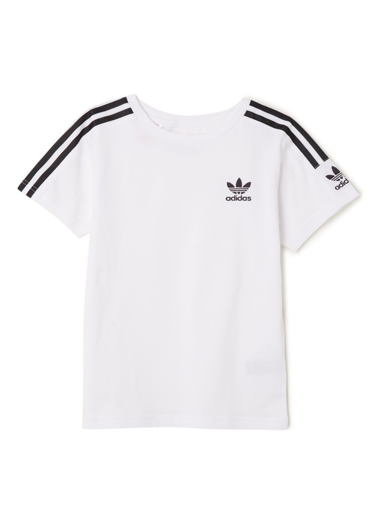 adidas - New Icon T-shirt met logoborduring - Wit