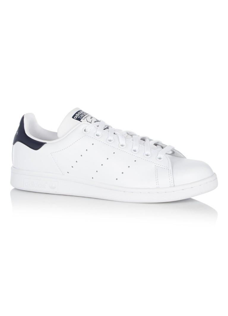 enorme verkoop top kwaliteit 100% origineel adidas Stan Smith sneaker van leer • de Bijenkorf