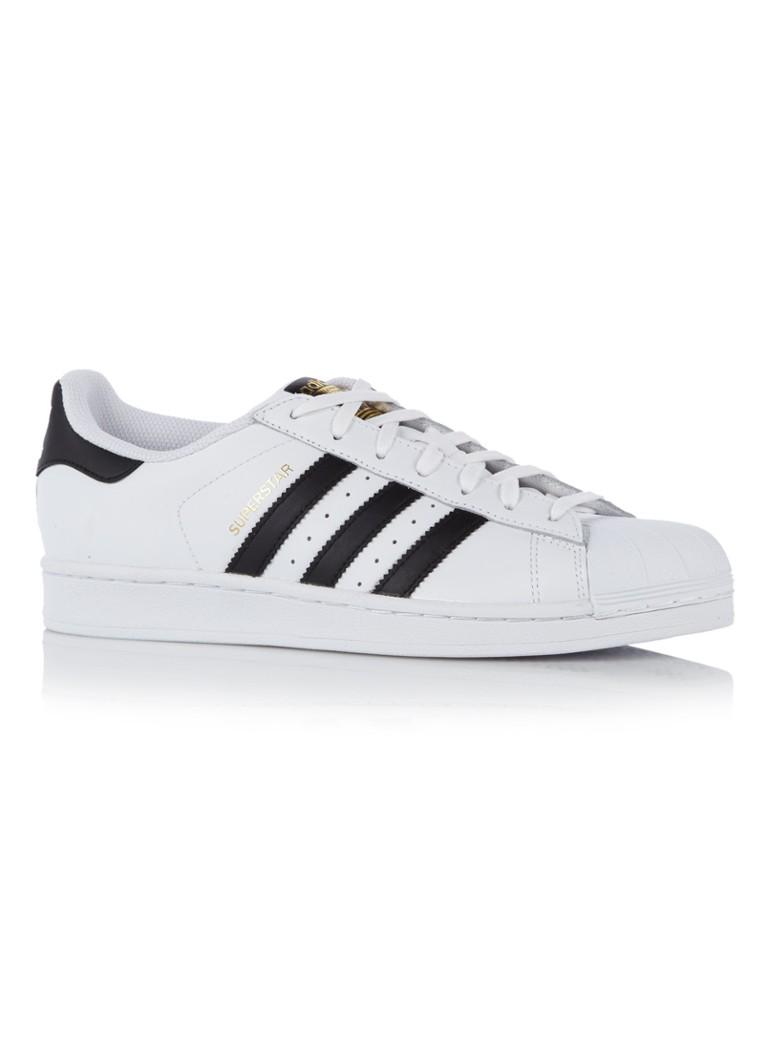 4a405557ac0 adidas Superstar sneaker van leer • de Bijenkorf