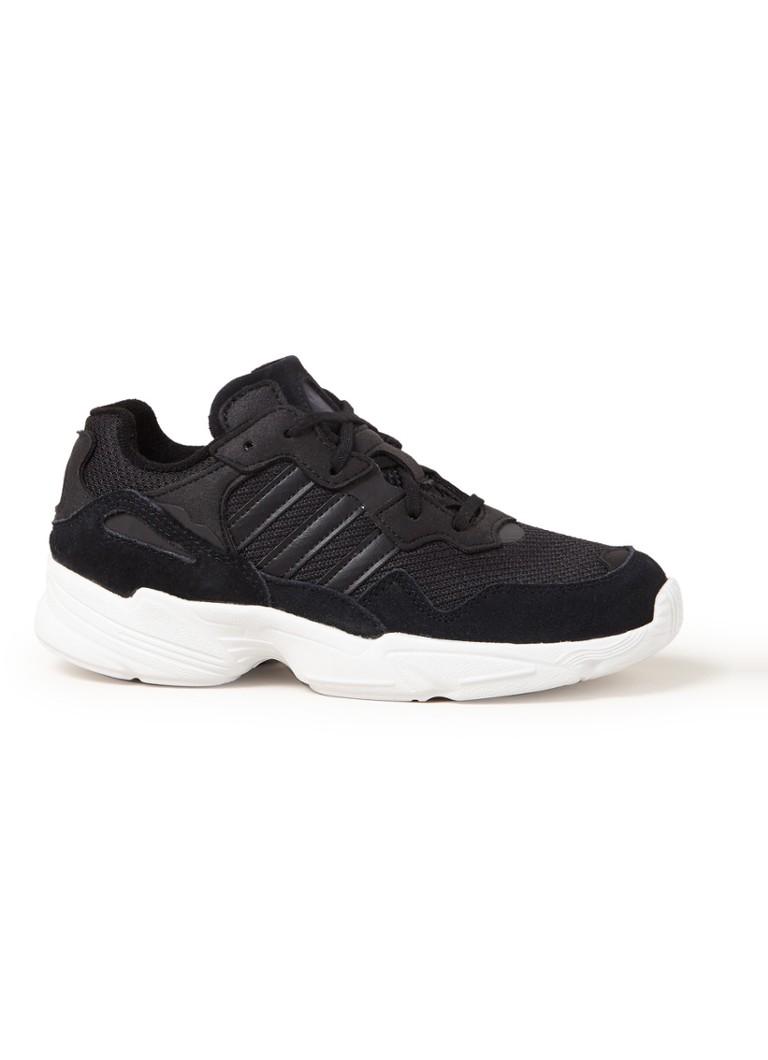 6211b33a763 adidas Yung-96 sneaker met suède details • de Bijenkorf