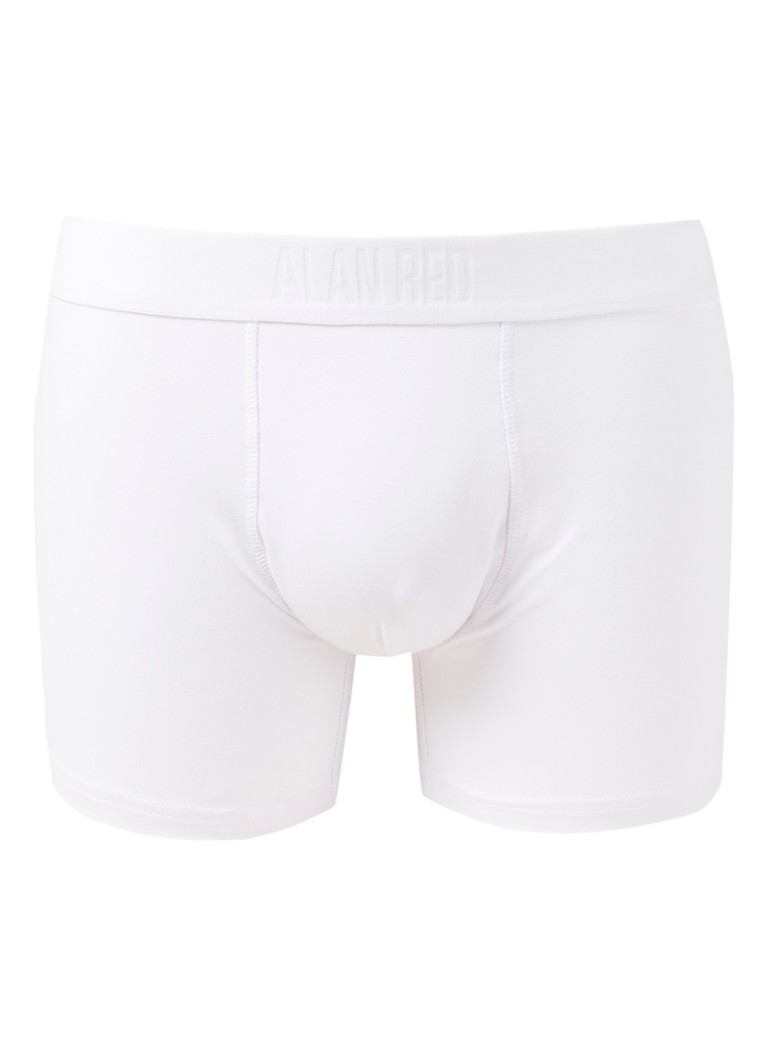 Alan Red - Boxershort in uni - Wit