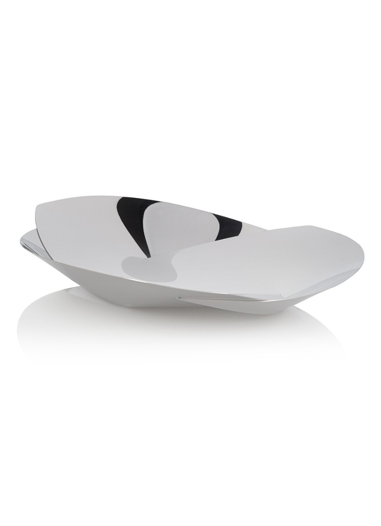 Alessi - Resonance fruitschaal 38 cm - Zilver