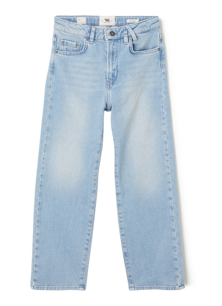 America Today - Kathy high waist straight fit jeans  - Indigo