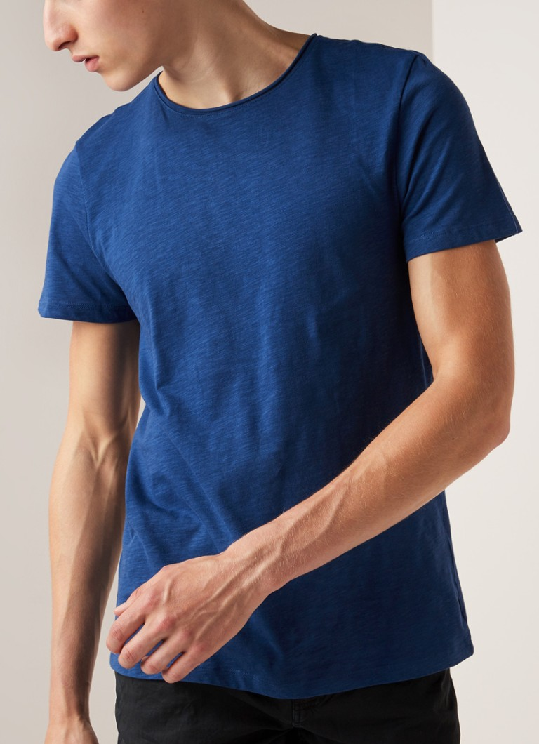 America Today - Took T-shirt met ronde hals - Blauw