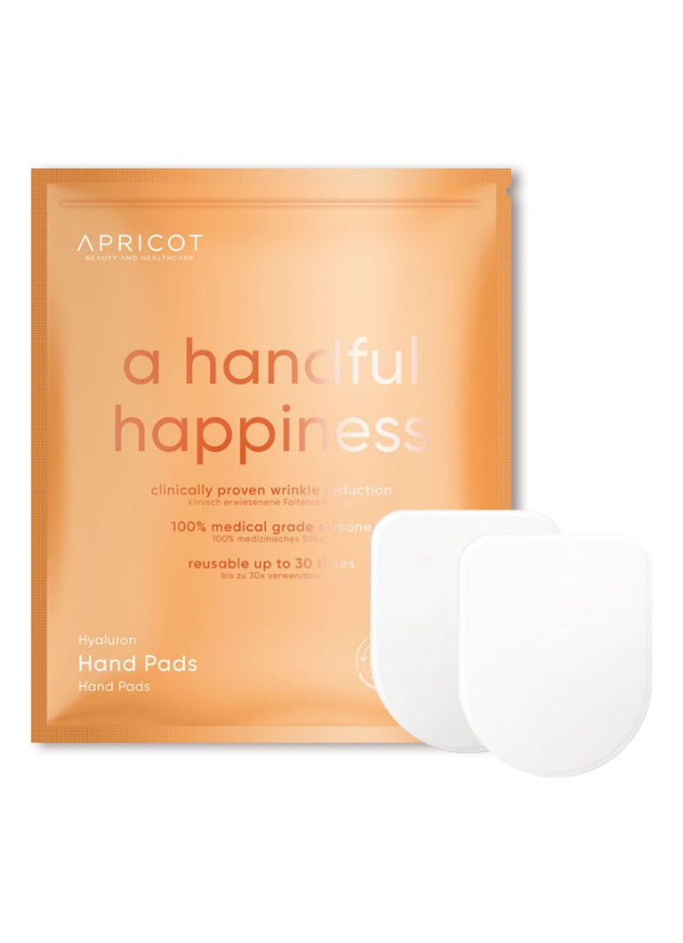 Apricot - Hyaluron Hand Pads - mini handmasker - null