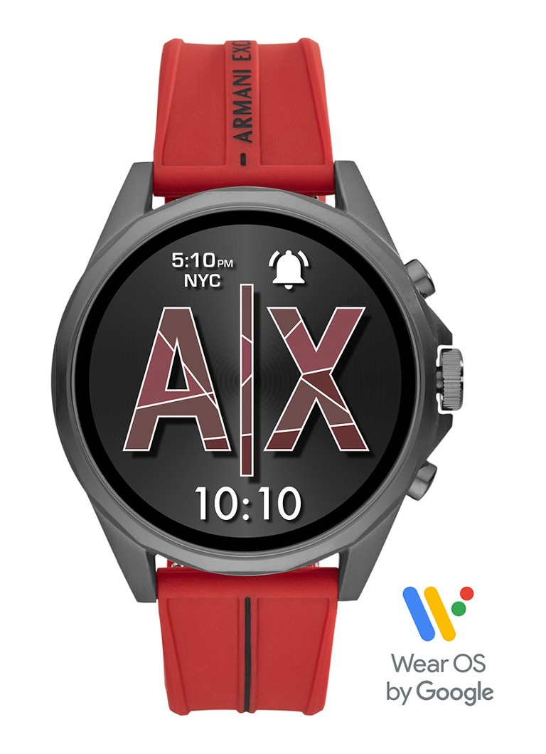 Armani Exchange - Drexler Display smartwatch Gen 4 AXT2006 - Rood