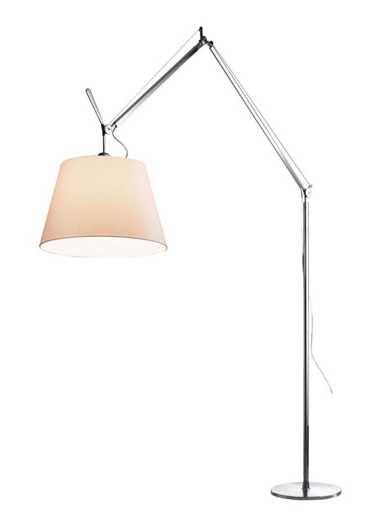 Artemide Tolomeo Vloerlamp.Artemide Tolomeo Mega Terra Vloerlamp Met Dimmer Aluminium De Bijenkorf