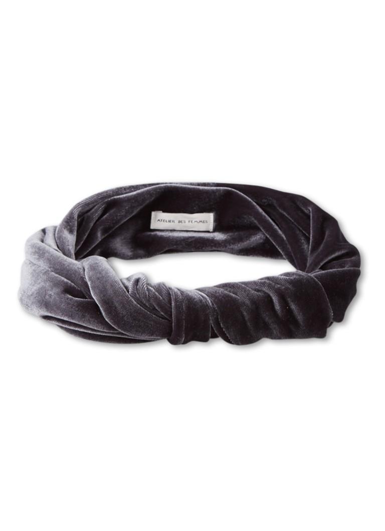 Romee Haarband Van Fluweel by Atelier Des Femmes