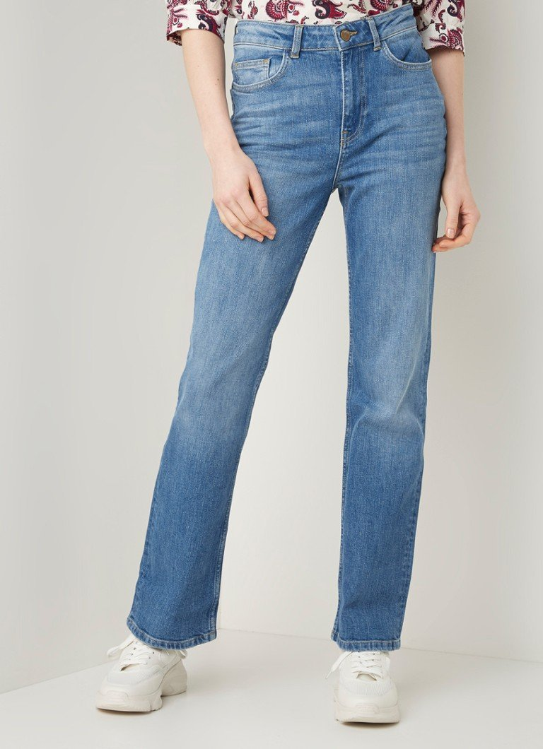 ba&sh - Cosm high waist straight fit jeans - Indigo