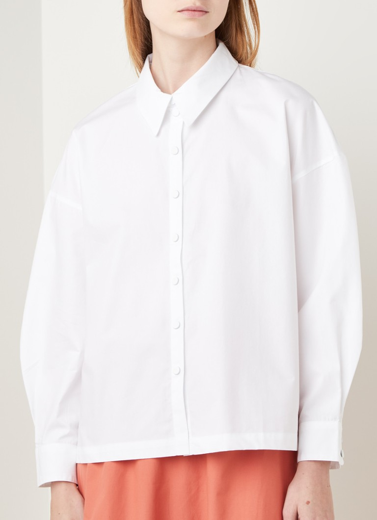 ba&sh - Patrick blouse - Wit