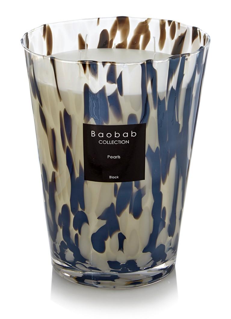 Baobab Collection Black Pearls geurkaars • de Bijenkorf