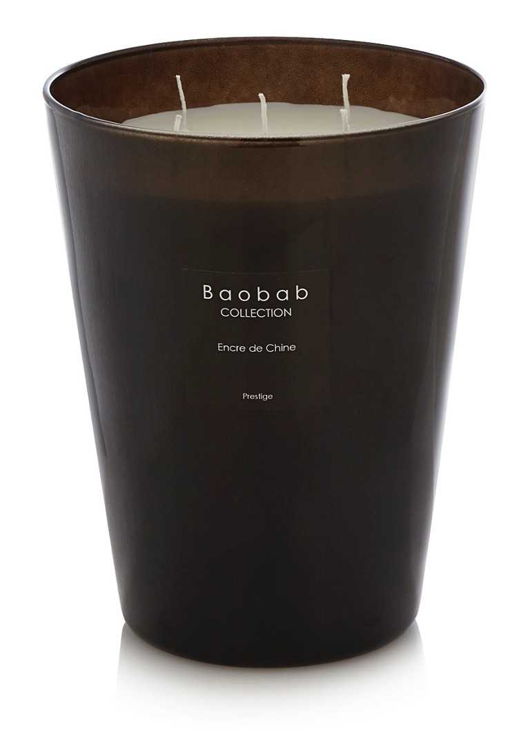 Baobab Collection - Encre de Chine Prestige geurkaars - Wit