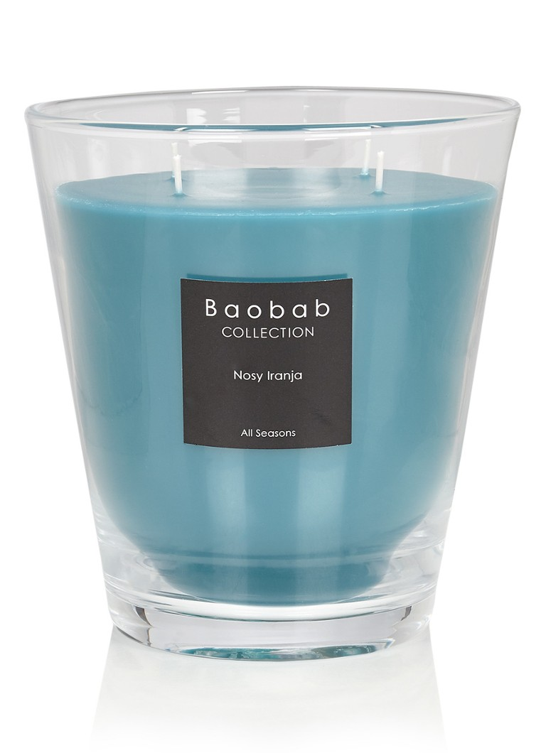 Baobab Collection - Nosy Iranja geurkaars - Turquoise