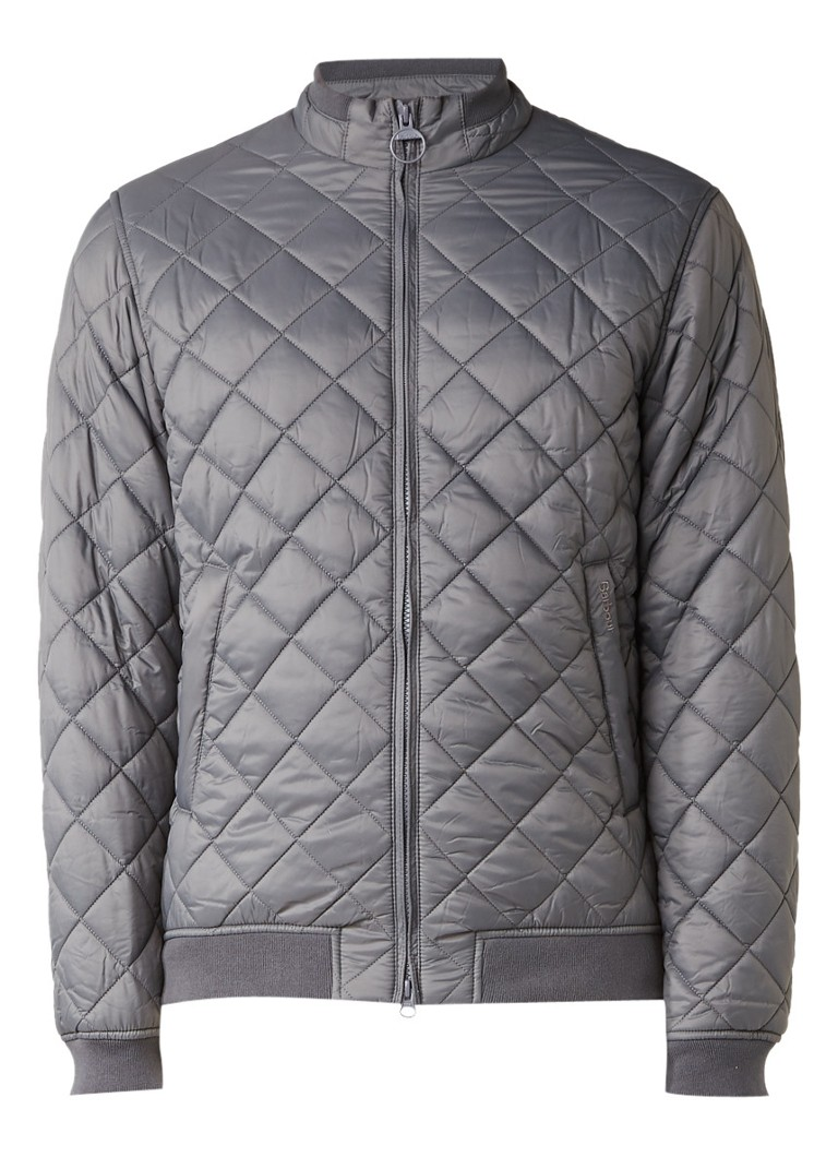 Barbour Holton quilted bomberjack
