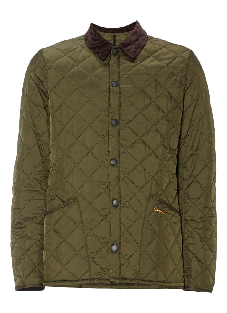 Barbour Liddesdale jacket in olijfgroen