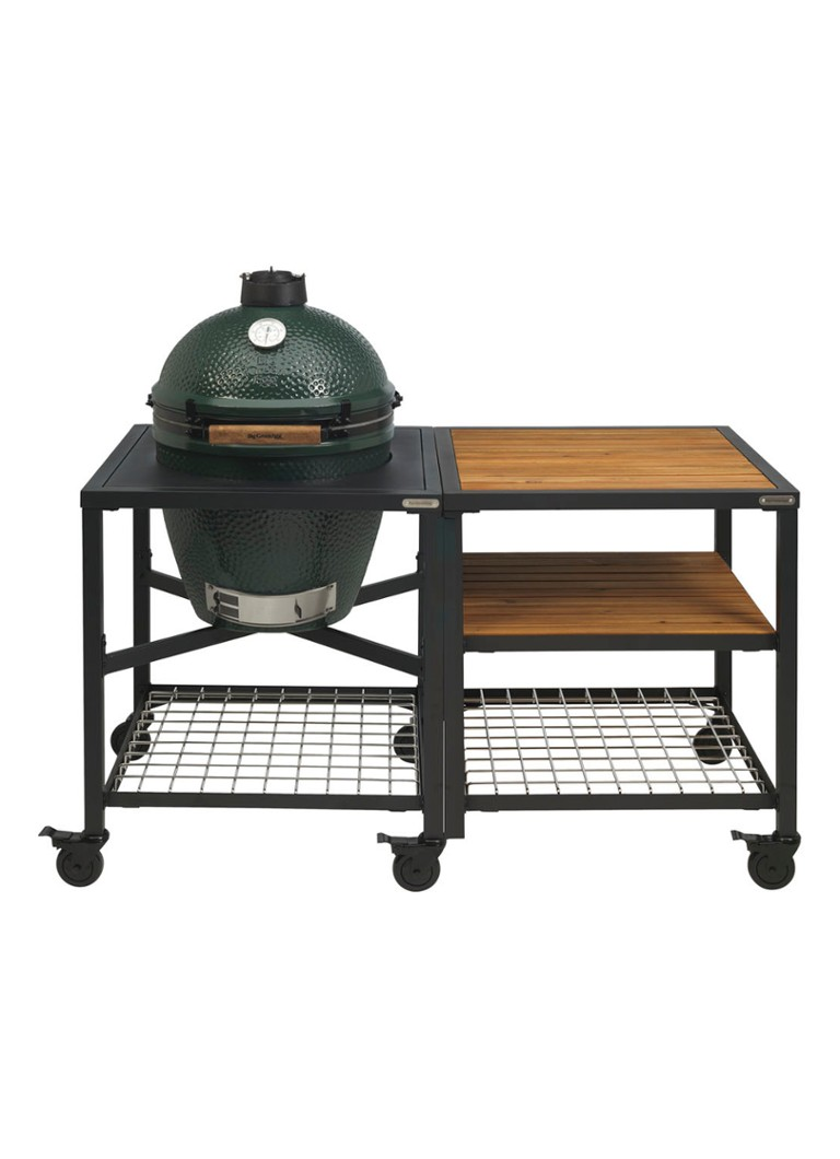 Big Green Egg - Buitenkeuken met kamado barbecue Large  - Zwart