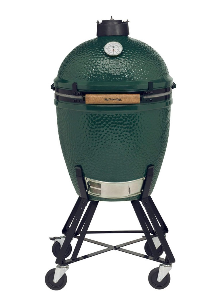 Big Green Egg - Large kamado barbecue met onderstel en hoes  - Groen