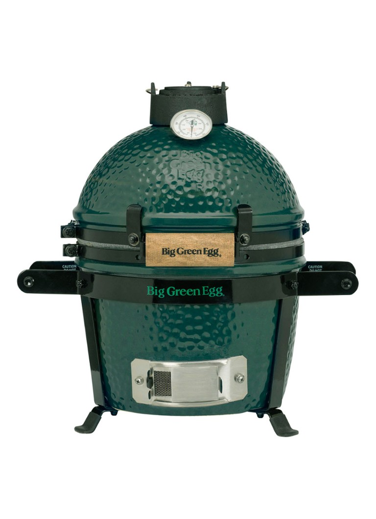 Big Green Egg - Mini kamado barbecue met carrier 2-delig - Groen