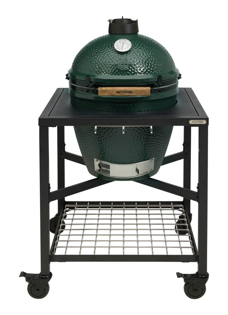 Big Green Egg - XL kamado barbecue met eggframe  - Zwart