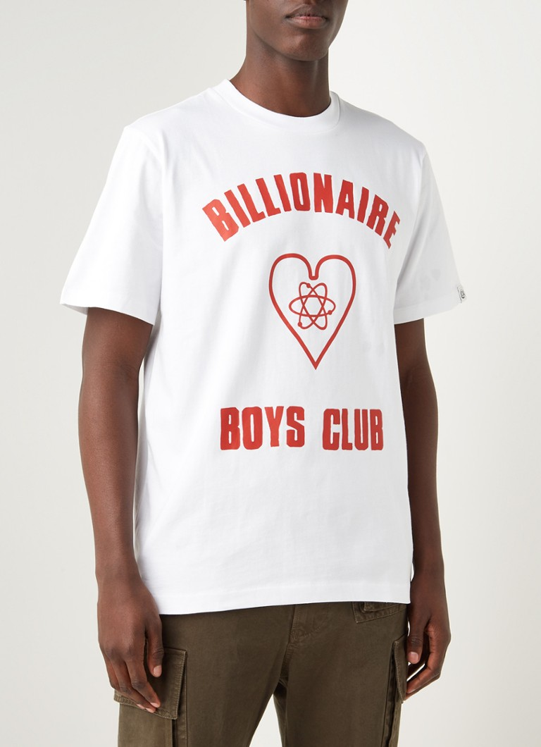 Billionaire Boys Club - T-shirt met logoprint - Wit