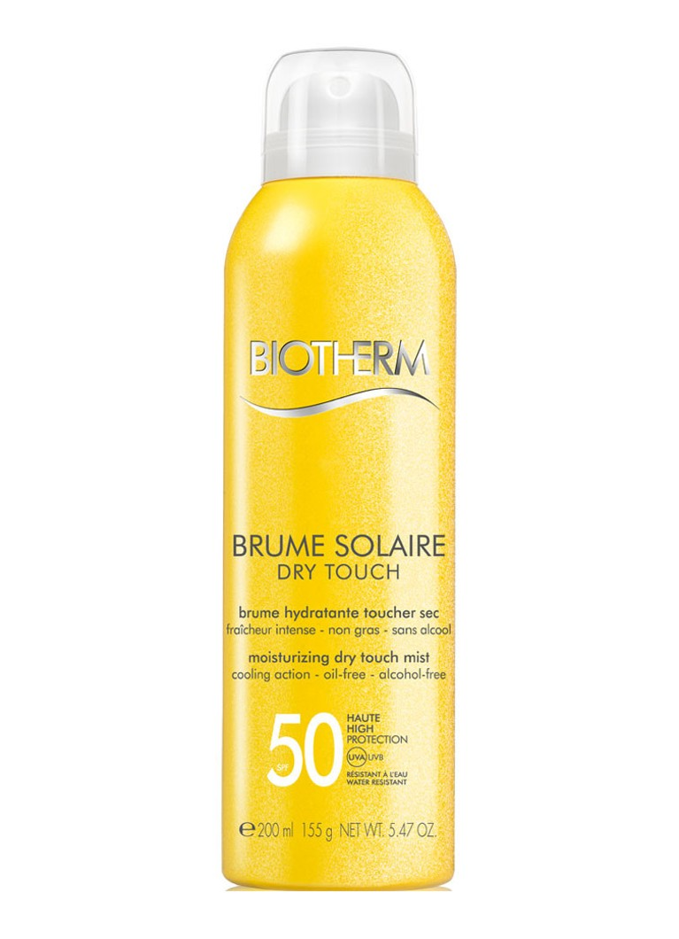 Biotherm - Brume Solaire Dry Touch SPF 50 - zonnebrand - null