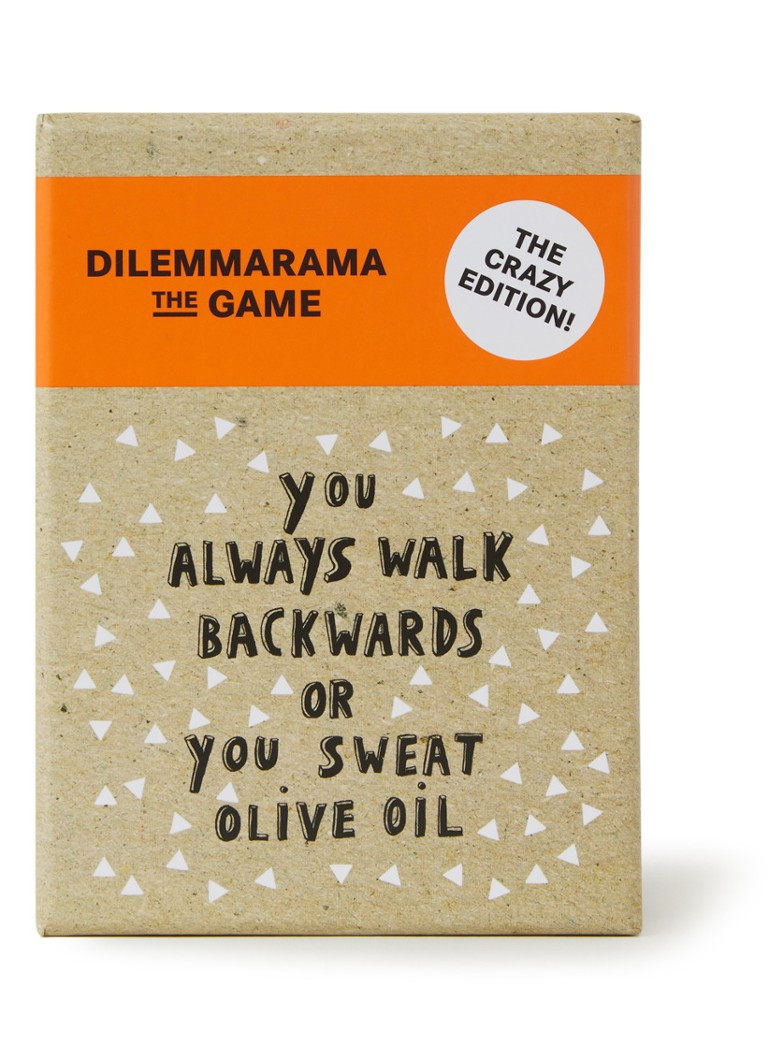 BIS Publishers - Dilemmarama the game: The Crazy Edition - Khaki