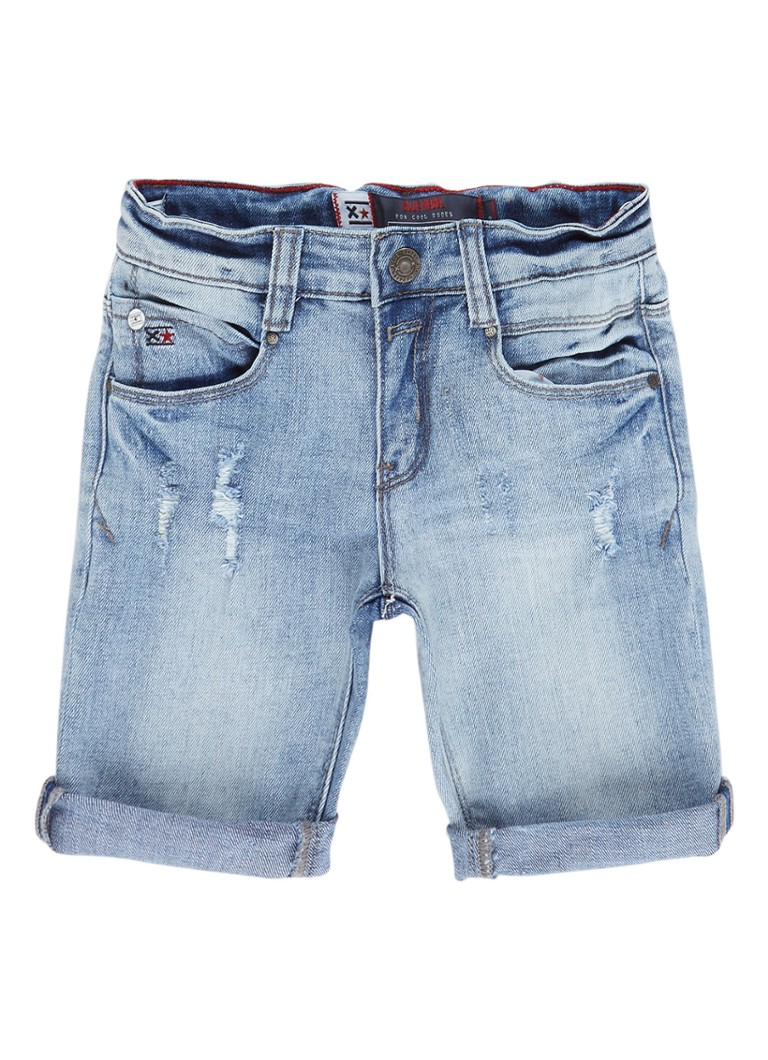 679f0fd7f Blue Rebel Rabar denim shorts met destroyed details • de Bijenkorf