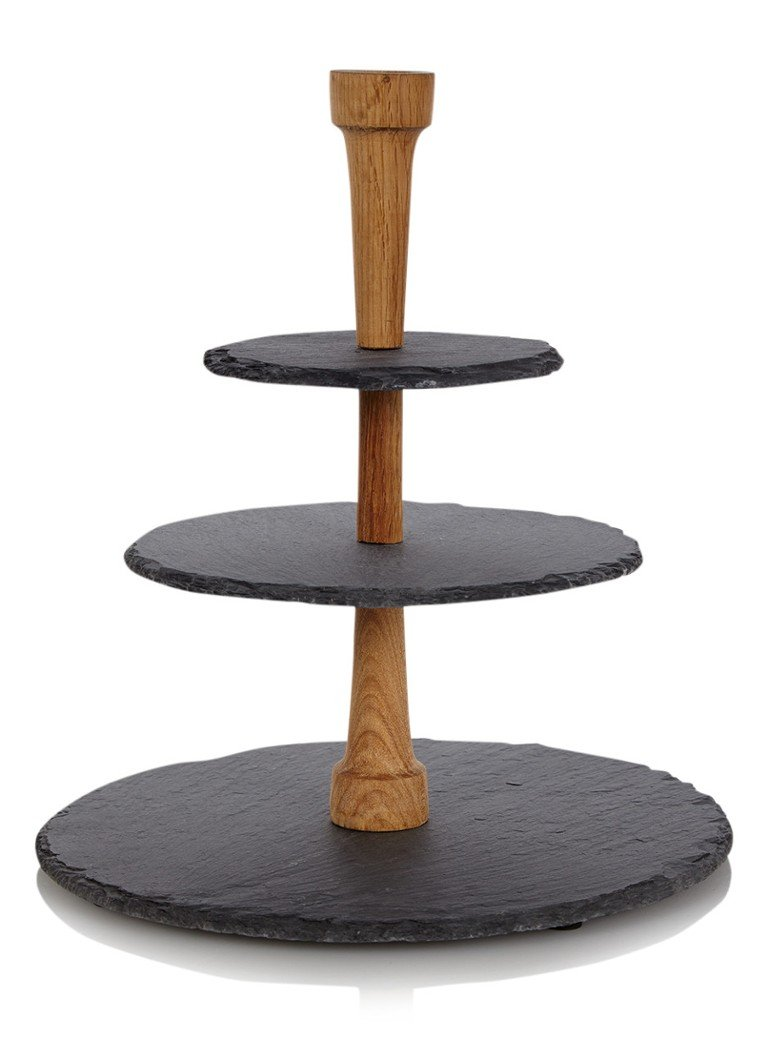 Boska - Cheese Tower etagère van leisteen 38,5 cm - Antraciet