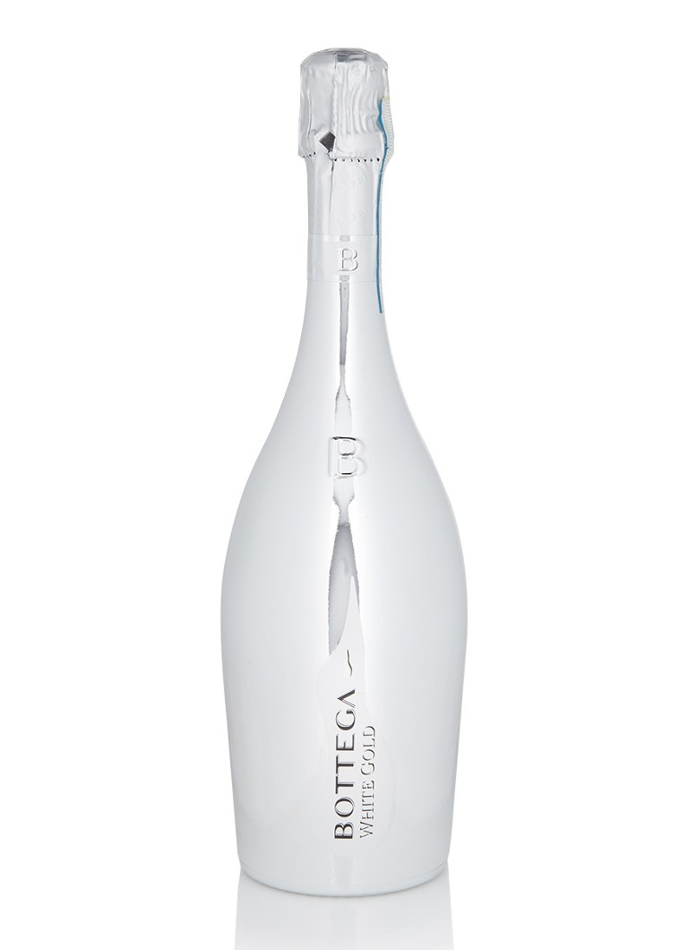 Bottega - White Gold Prosecco 750 ml - Zilver