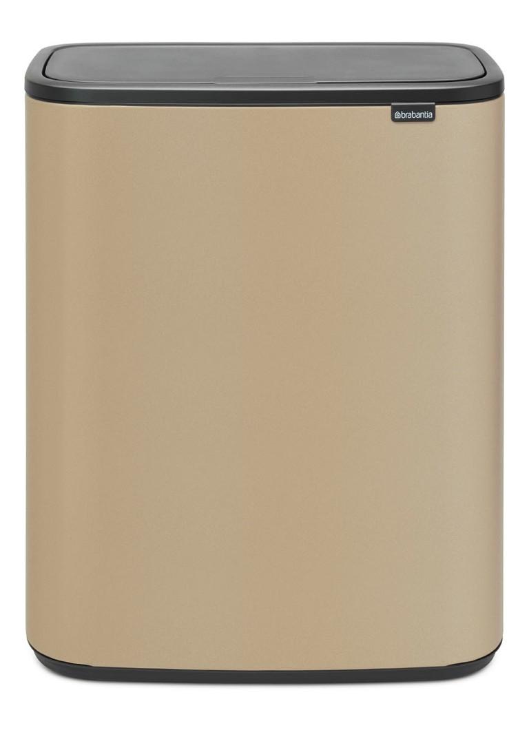 Brabantia Touch Bin 30 Liter Afvalemmer.Brabantia Bo Touch Bin Recycle Duo Afvalemmer 2 X 30 Liter De Bijenkorf