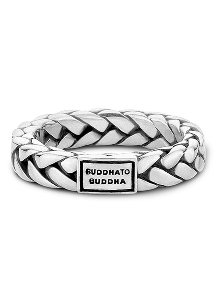 Buddha to Buddha - George ring van zilver - Zilver