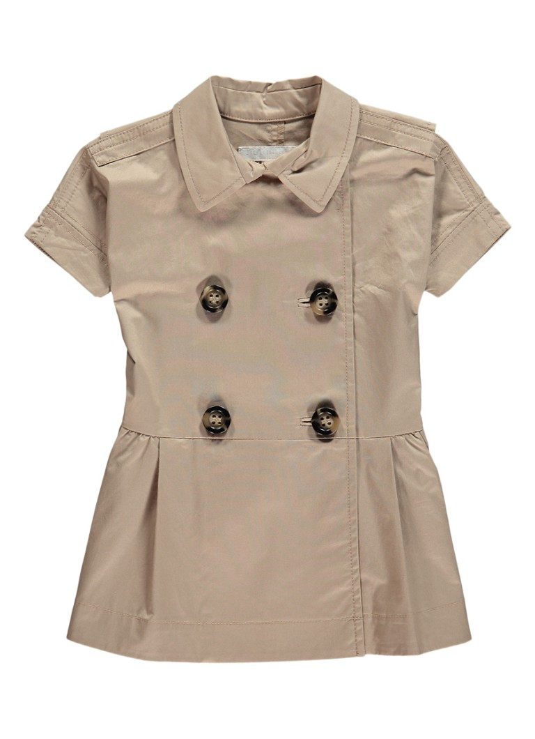 adaa31970c9 BURBERRY Cynthie A-lijn jurk met trenchcoat look • de Bijenkorf
