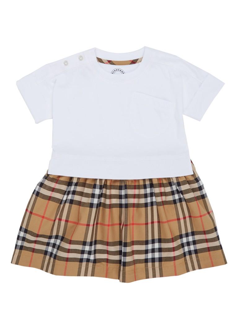 ba0909ca4bf BURBERRY Ruby A-lijn jurk met ruitdessin • de Bijenkorf