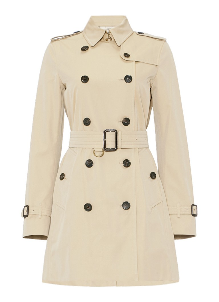 BURBERRY The Kensington Long trenchcoat van katoen
