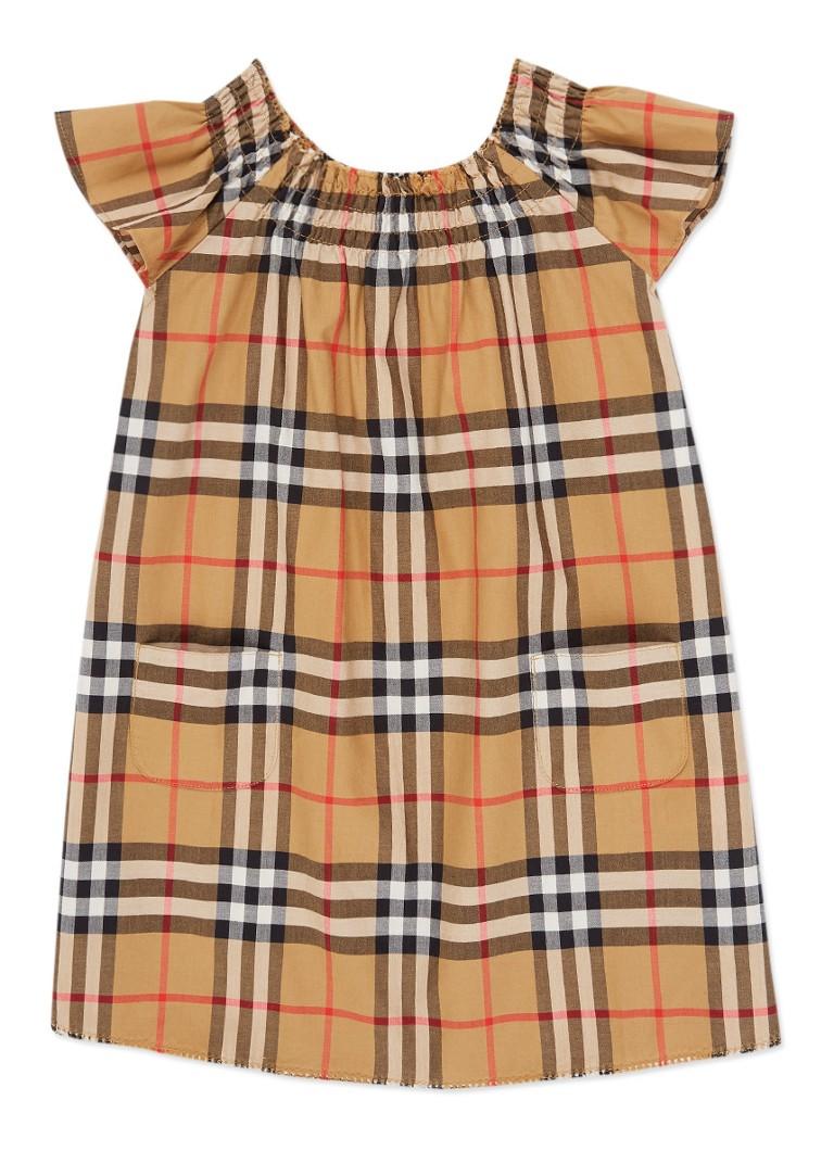 2602bef2299 BURBERRY Vinya A-lijn jurk met ruitdessin • de Bijenkorf